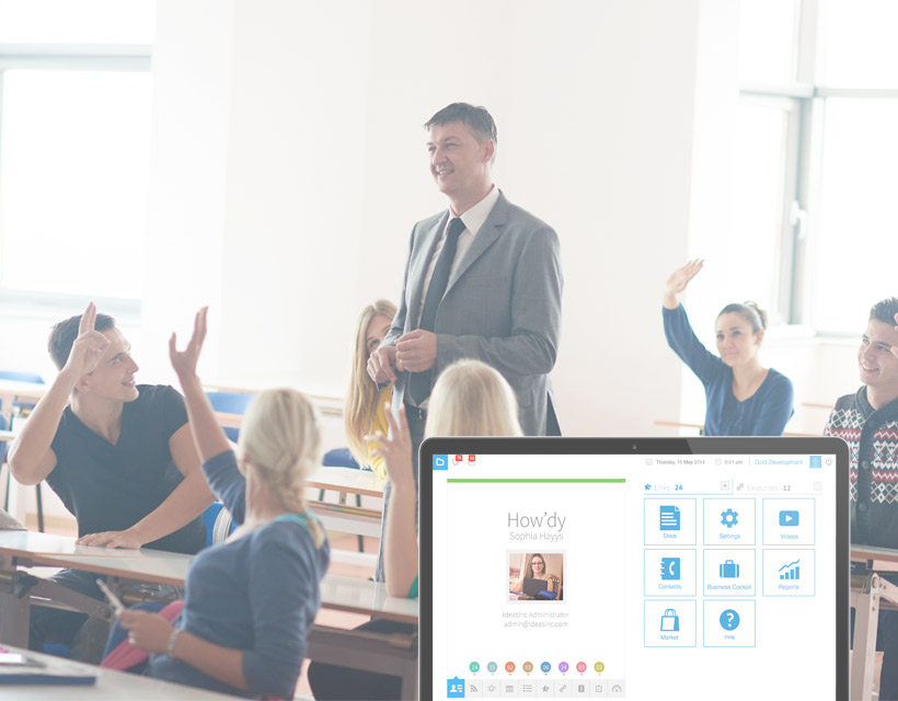education erp crm