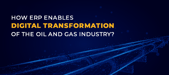 Header - Digital Transformation of Oil and Gas Industry